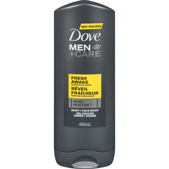 Dove Men+Care Fresh Awake Energizing Scent Body & Face Wash - 400ml