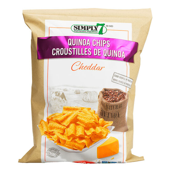 Simply 7 Quinoa Chips - Cheddar - 100g