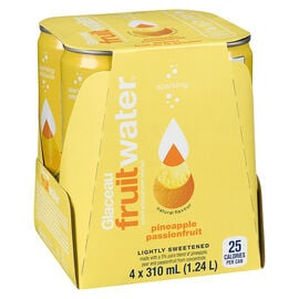 Glaceau FruitWater - Pineapple Passionfruit - 4 x 310ml