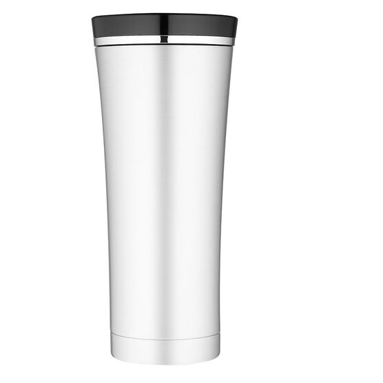 Thermos Premium Stainless Steel Tumbler with Black Top - 470ml