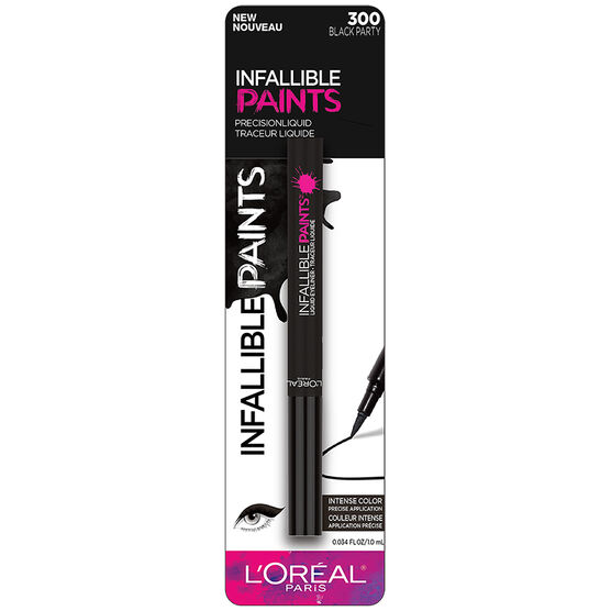 L'Oreal Infallible Paints Eyeliner - Black