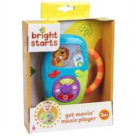 Bright Starts Get Movin' Music Player - 9048