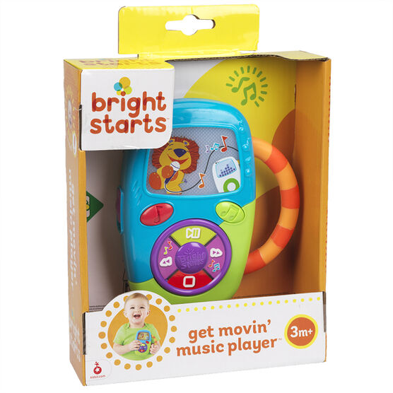 Bright Starts Get Movin' Music Player - 9048