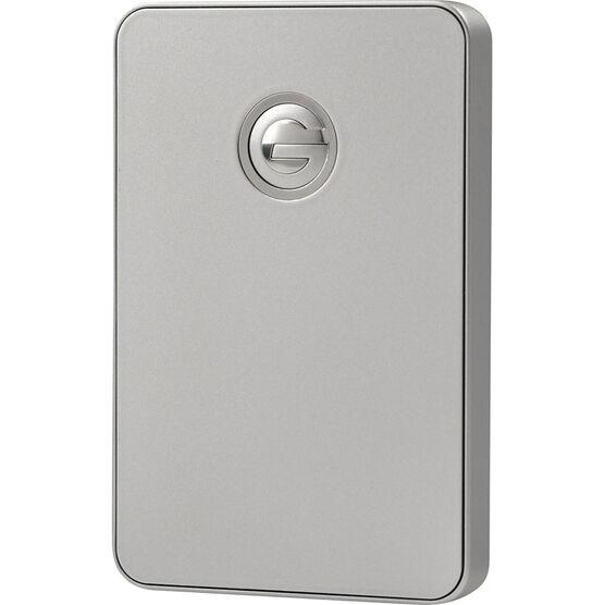 G-Technology 500GB G-Drive Mobile Portable Drive USB 3.0 - Silver - 0G02420