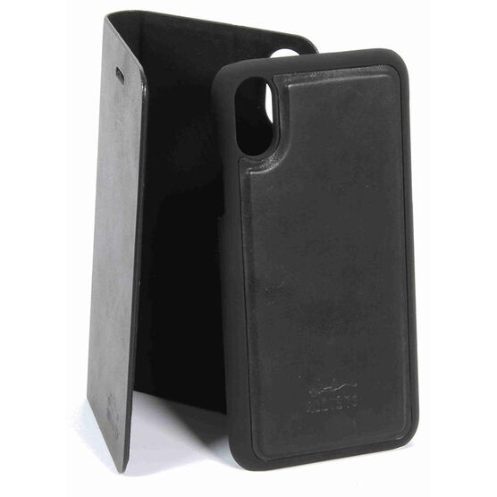 Roots Slim Folio Case for iPhone X - Black - RFIPXB