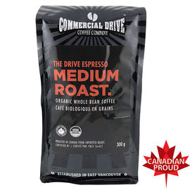 Commercial Drive Coffee - The Drive Espresso Roast - Whole Bean - 300g