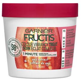 Garnier Fructis Smooth Treat 1 Minute Hair Mask - Goji - 100ml
