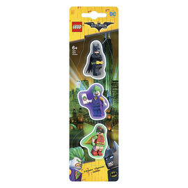 Lego Batman Erasers - 3 Pack