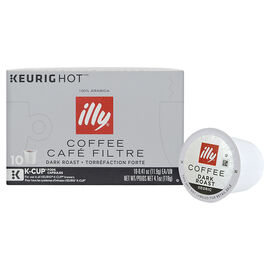 Illy K-Cup Coffee - Dark Roast - 10 Servings