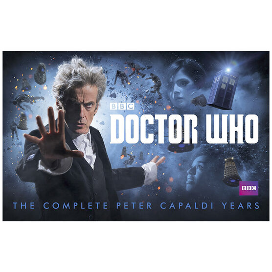 Doctor Who: Complete Peter Capaldi Years - Blu-ray
