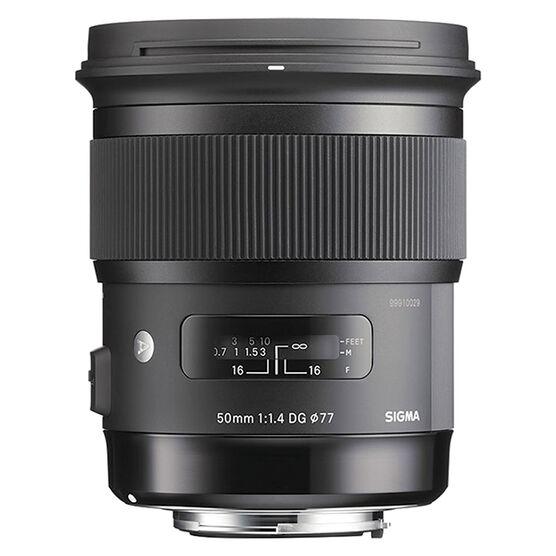 Sigma Art 50mm F1.4 DG HSC Lens for Sony - A50DGHAS