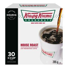 K-Cup Krispy Kreme - Light-Medium House Roast - 30 Pack