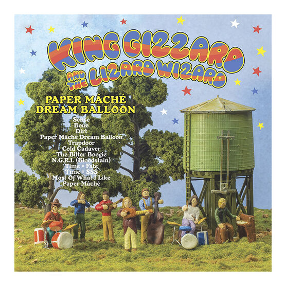 King Gizzard and the Lizard Wizard - Paper Mache Dream Balloon - Vinyl