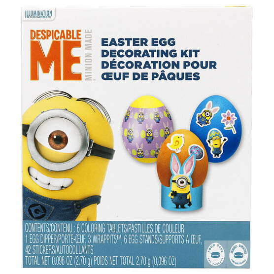 Despicable Me Minion Easter Egg Decorating Kit