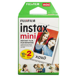 Fuji Instax Mini Film Twin Pack - 20 Exposures