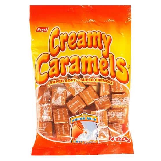 Regal Creamy Caramels - 180g