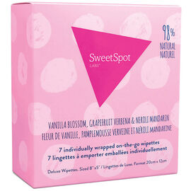 Sweet Spot On The Go Wipettes - 7's