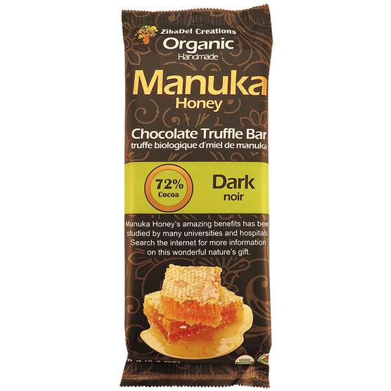 Manuka Honey Chocolate Truffle Bar - Dark Chocolate - 70g