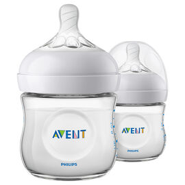 Avent Natural Bottles - 2 x 125ml - SCF010/27