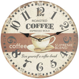 London Drugs Wall Clock - Coffee Break