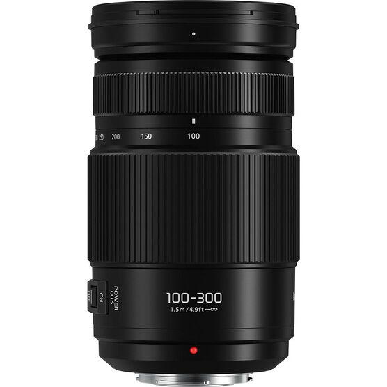 Panasonic LUMIX G VARIO 100-300mm F4.0-5.6 II Lens - Black - HFSA100300