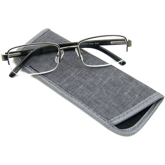 Foster Grant Lyden Gun Men's Reading Glasses - 1.75