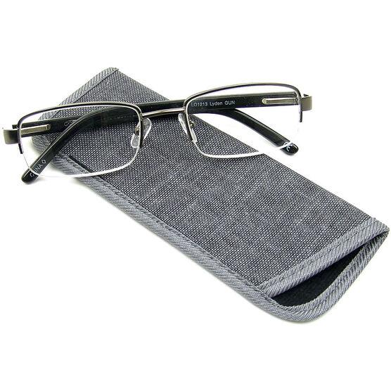 Foster Grant Lyden Gun Men's Reading Glasses - 3.25
