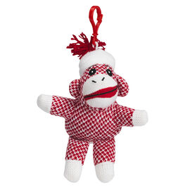 Valentine Sock Monkey with Clip - Assorted