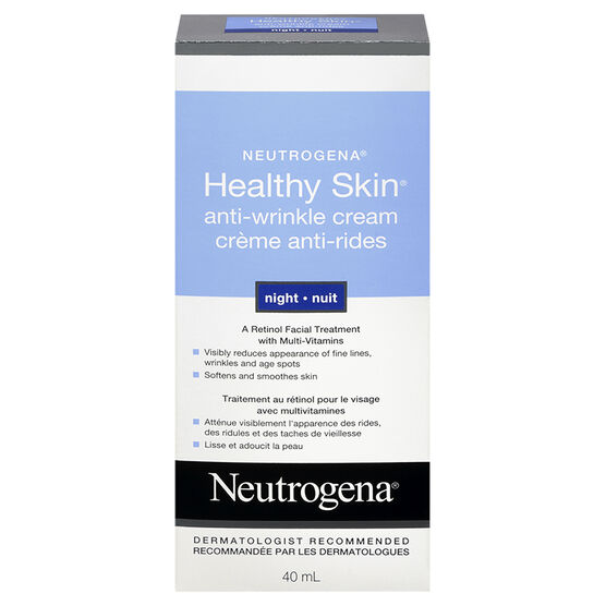 Neutrogena Healthy Skin Anti-Wrinkle Cream - Night - 40ml
