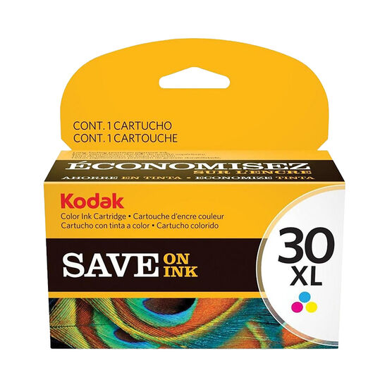 Kodak #30XL Color Ink - Multi-color Pack - 1341080