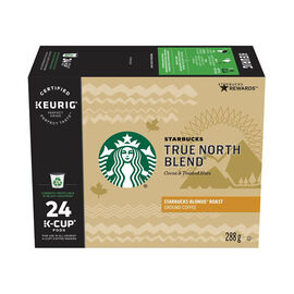 K-Cup Starbucks Coffee - True North - 24 pack