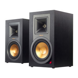 Klipsch Self-Powered Speakers with Pre-Amp - Pair - Black - R15PM