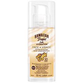 Hawaiian Tropic Silk Hydration Face Oil Free Sunscreen - SPF30 - 50ml