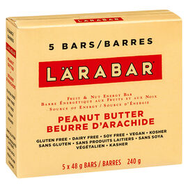 Larabar Bars - Peanut Butter Cookie - 5 x 48g