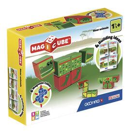 Geomag Magicube River Animals - 6 Piece