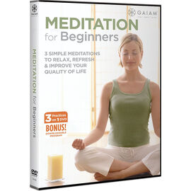 Gaiam Meditation For Beginners - DVD