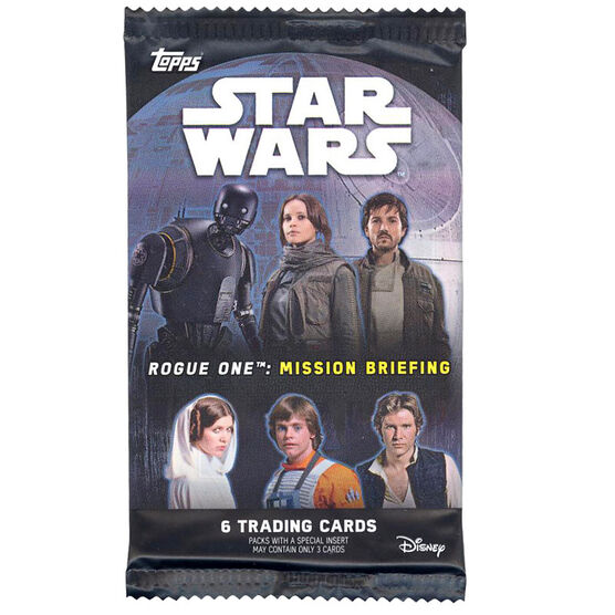 2016 StarWars Road to Rogue One Booster Pack