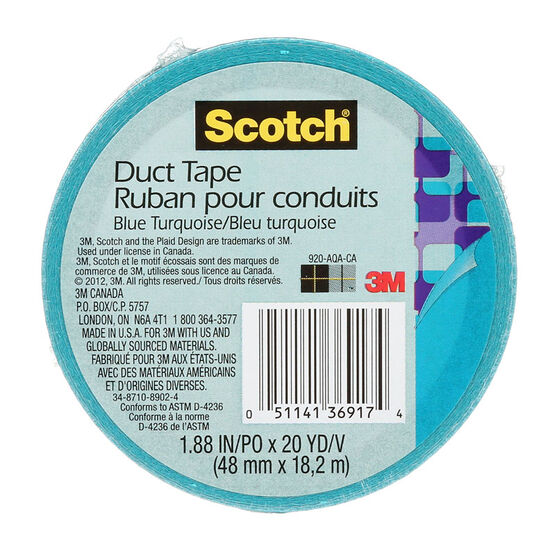 3M Scotch Duct Tape - Blue Turquoise
