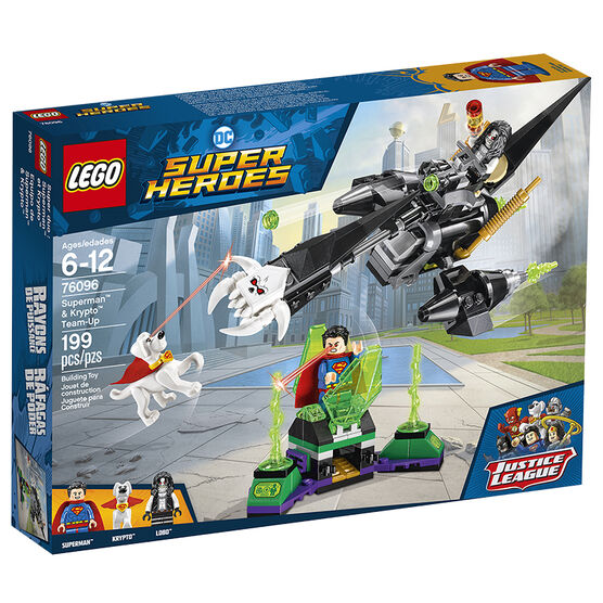 LEGO DC Super Heroes - Justice League  Superman™ & Krypto™ Team-Up