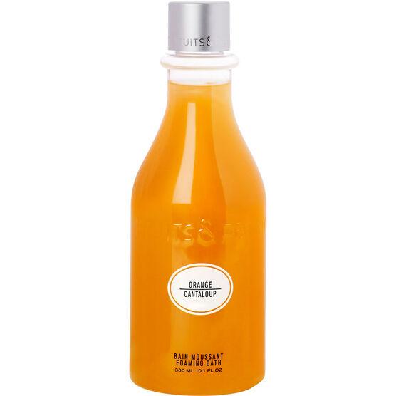 Fruits & Passion Foaming Bath - Orange Cantaloupe - 300ml