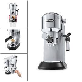 Delonghi Dedica Deluxe Espresso Machine - Stainless Steel - EC685M