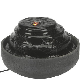 Homedics Mirra Impression Tabletop Fountain - Black