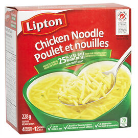 Knorr Lipton Chicken Noodle Soup Mix - 4 pack/228g