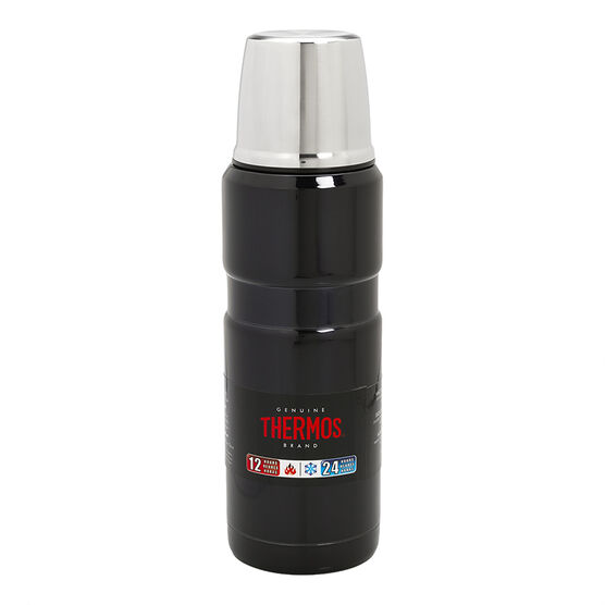 Thermos Stainless King Beverage Bottle - Midnight Blue - 470ml