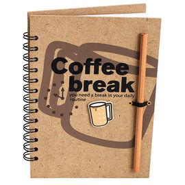 London Drugs Coffee Break Note Pad - 160 pages