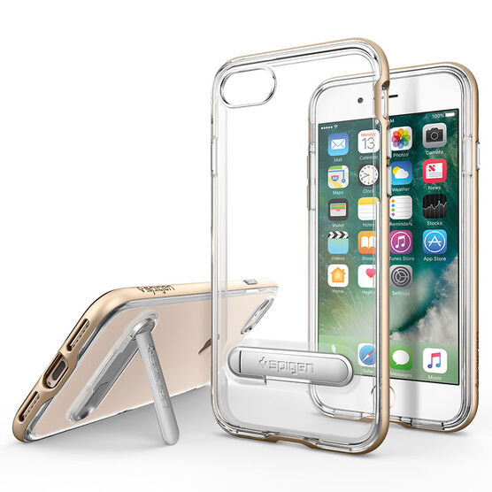 Spigen Crystal Hybrid for iPhone 7 - Gold - SGP042CS20460