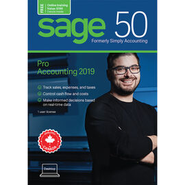 Sage 50 Pro Accounting: Canadian Edition - 2019 - CPRO2019SRT