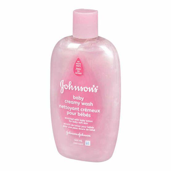 Johnson & Johnson Bedtime Cream Wash - 444ml