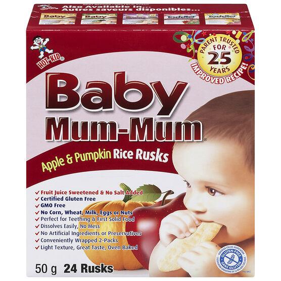Baby Mum-Mum - 50g - Apple and Pumpkin