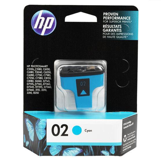 HP 2 Vivera Ink Cartridge - Cyan - C8771WN#140